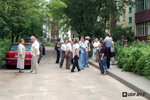Rally in Memory of Dmitry Zavadski Took Place