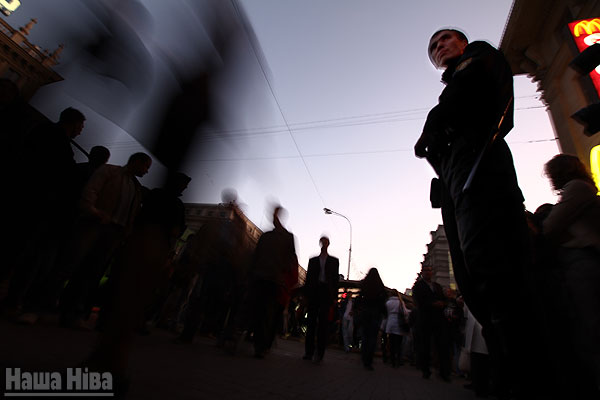 The protest action took place in Minsk without detentions - photo