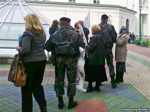 "Some 10 women protesting ""unfair"" judgments arrested in Minsk - photo"