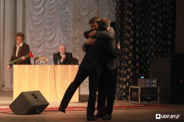 Anatol Lyabedzka is reelected as the UCP Chairman - photos