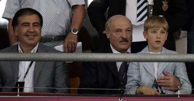 Lukashenko wasn't allowed to seat near European leaders