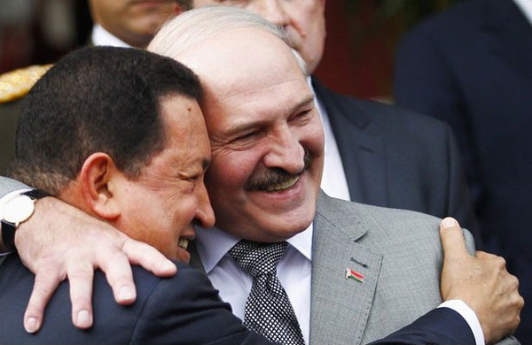 Belarusians had to mourn Chavez for three days