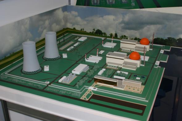Preparatory work for building nuclear power plant said to be going faster than scheduled