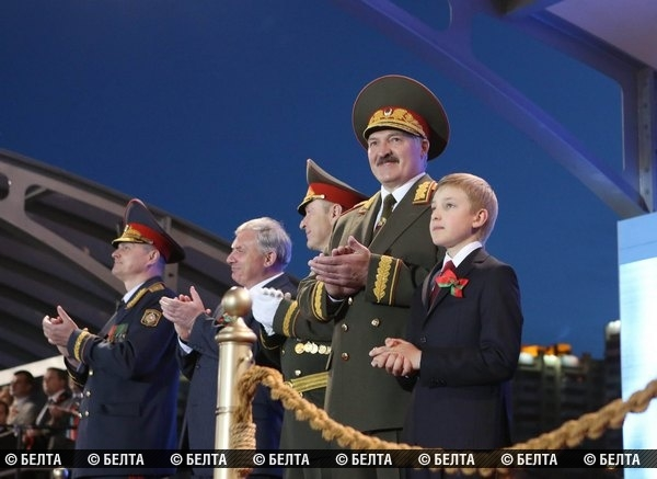 Festive parade in Minsk (photo, video)