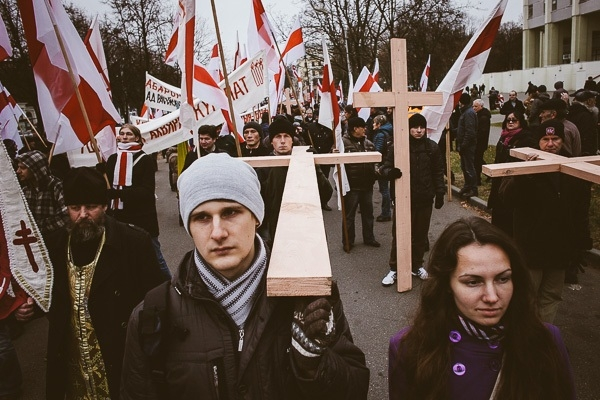 Dzyady manifestation in Minsk (photo report)