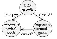 Intermediate and capital goods import and economic growth in Belarus