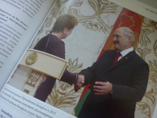 Belarus chief election official: Women and decent persons are not interested in politics