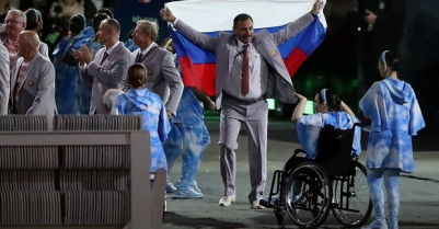 Paralympics: Belarus stages pro-Russia protest during opening ceremony