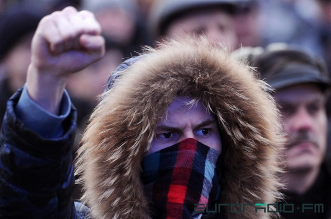 'Social parasites' protest in Minsk - in pictures